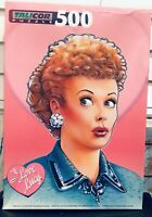 I LOVE LUCY Jigsaw Puzzle 500 Pc NEW RARE Talicor 1997 Vintage Tv Comedy Legend