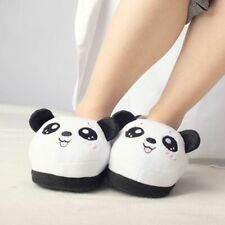 Cartoon Plush Slippers Winter Warm Non-slip Home Cotton Animal Indoor Slippers
