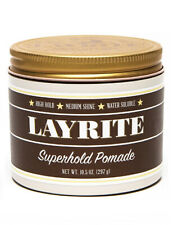 Layrite Super Hold Pomade XL Mens Haircare Hair Styling Product 297g / 10.5oz