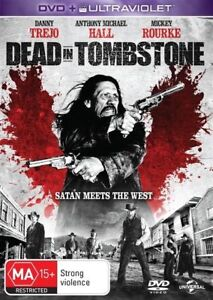 Dead In Tombstone (DVD, 2013) VGC - FREE POST