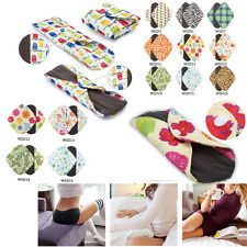 S/M/L/XL Reusable Bamboo Cloth Washable Menstrual Pad Mama Sanitary Pad Liner ZY