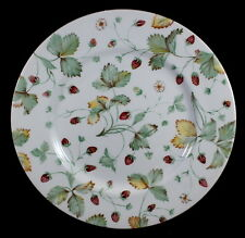 * Set of 4 * ROYAL STAFFORD ALPINE STRAWBERRY -- DINNER PLATES PLATE SET