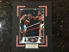 Muhammad Ali Autographed 5x7 Photo On A 8x10 Matte Finish w/COA