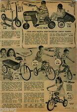 1953 ADVERTISEMENT Bike Bicycle Rollfast Big 'N Little Delivery Trike Chrysler
