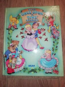 FOUR * ONCE UPON A TIME * STORIES ~ HARDBACK CHILDREN'S BOOK ( DEAN & SON LTD )