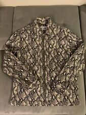 Urban Outfitters Python Snakeskin Print Jacket