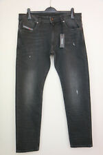 REPLAY ANBASS COIN ZIP Men's Slim Fit Stretch Black MB914 Jeans,W34 L32 RRP £145