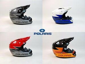 Polaris Helmet MX, ATV, Dirt Bike,Motorcycle, Off Road Helmet DOT/SNELL Approved