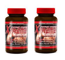 2X Xtreme 2000 Extreme L-Arginine Nitric Oxide Strength Endurance Muscle Builder