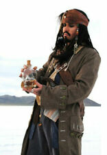 PIRATES OF THE CARIBBEAN CAPTAIN JACK SPARROW REPLICA COSTUME - GET IT FAST