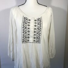 Old Navy Woman Size XL Blouse  Sleeve Top Shirt
