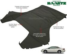 Chrysler Sebring 1996-2006 Convertible Top (Top Section Only) Black Sailcloth