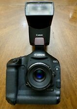 Canon EOS 1D Mark IV 16.1MP Digital SLR Camera With 50mm And Canon 380ex Flash