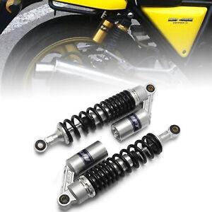 """Paar 13.5"""" 340mm Motorrad Shock Absorber Stoßdämpfer Federbeine Für Honda Suzuki"""