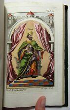 Antique TABLEAU HISTORIQUE DES COSTUMES Medieval France 35 HAND COLORED PLATES