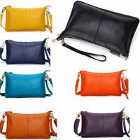 Women Messenger Hobo Bag Genuine Leather Handbag Shoulder Tote Purse Crossbody #
