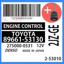 89661-53130 OEM ECU ECM W/ PROGRAMMED TRANSPONDER KEY 2001 01 Lexus IS300