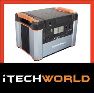 iTechworld Itech1000P lithium 220V Portable Solar Generator 60AH