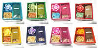 NEW GiftSet Incense Burn Sticks Candle Container Thai Aroma Spa  (Handmad)