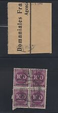 "Germany Nov 1923 ""Hitler Provisorium"" used block of 4, Michel 331a,Tworek attest"