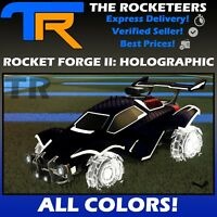 [PC STEAM]Rocket League All Painted ROCKET FORGE II HOLOGRAPHIC RP II Wheels