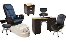 Ellie Package 1/ Shiatu Massage Pedicure Chair/Nail Salon