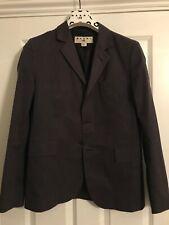 Marni at H&M mens pinstriped navy jacket size Eur 48