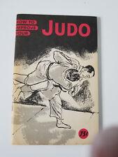 How to Improve Your Judo Paperback – 1960 by Sadaki Nakabayashi