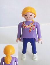PLAYMOBIL (3314) MODERNE - Femme Cheveux Blonds, Foulard et Pantalon