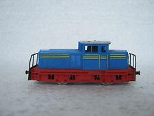 Minitrix n 2066 diesel Lok werkslok Hentschel azul (rg/cl/51-19s4/25)