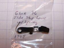 Glock 36 OEM Slide Stop Lever w/Spring  1795               GG08