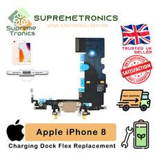 Iphone 8 100% Original Cargador USB Puerto De Carga Dock Micrófono Cable Flexible de reemplazo