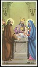santino-holy card ediz. AR n.Z/36 PRESENTAZIONE DI GESU' AL TEMPIO