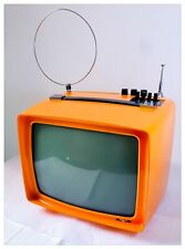 "Television Portable Vintage Rex Zanussi Mod. P 12"" Not Works"
