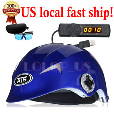 64 Diodes Laser Cap LLLT Hair Treatment ReGrowth Therapy Hair Loss Helmet w/Time