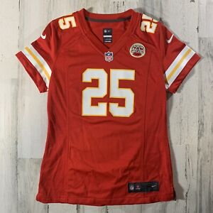 Nike Kansas City Chiefs Jamaal Charles #25 NFL Red Women's Jersey Size Small