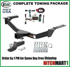 """CURT TRAILER HITCH PACKAGE FOR 2011-2014 FORD EDGE CLASS 3, 2"""" TOW RECEIVER"""