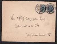 DENMARK OLD LETTER  4 ORE  USED THISTED TO KJOBENHAVN