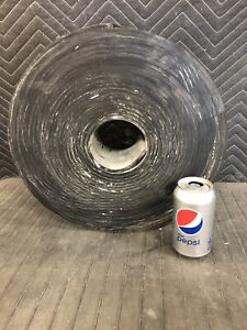 """1 Roll Neoprene Sheet Rubber Roll - 1/4"""" thick x 4"""" wide x 50' 70 durometer"""