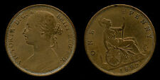 one penny rame / copper Victoria 1892