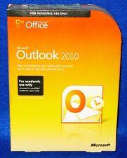 Genuine Microsoft Office Outlook 2010 Academic 543-05182 32/64 bit Win 7
