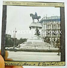 FOTO ANTICA LANTERNA MAGICA MILANO GARIBALDI BIRRERIA EDEN 1900C