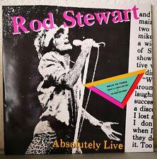ROD STEWART - ABSOLUTELY LIVE - 2 LP - WEA PORTUGAL