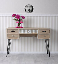 vintage bureau loft console de table table latérale industrie