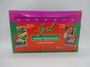 1992 Grid formula 1 tradings cards box brand new 24 packs schumacher rookie card
