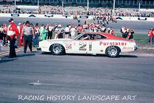 1975 DAYTONA 500 20X30 PHOTO 21 DAVID PEARSON WOOD BROTHERS MERCURY HISTORY RACE