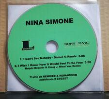 NINA SIMONE - I CAN'T SEE NOBODY - I WISH I KNEW HO IT WOULD ....CDs PROMO 2007