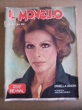 IL MONELLO n°19 1977 Ornella Vanoni Vincenzo D'Amico Gloria Gaynor  [G490]