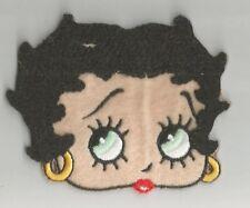 BETTY BOOP pin up visage portrait écusson / patch 9X7 cm