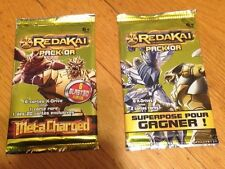 RARE Redakai 3D GOLD PACK x2 Series 1 & 2 Packs PACK OR NEW Sealed METACHARGED